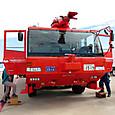 空港用大型化学消防車