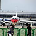 中国東方空港も出発