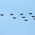 10機のT-4スコードロン