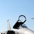 F-15J越しのA-WACS