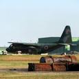 C-130H テイクオフ