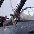 浜松基地の整備教育用F-2