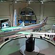 シミュレーターとセットの大型模型