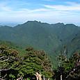 大普賢岳登頂