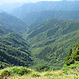 水太谷の峡谷