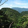 薩摩ころびからの国見岳と弥山