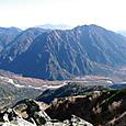 霞沢岳と上高地