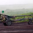 自走する155mm榴弾砲FH-70
