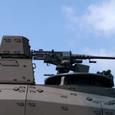 10式戦車の12.7mm重機関銃