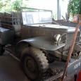 レストア前の軍用トラック