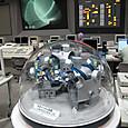 制御室のLHD模型
