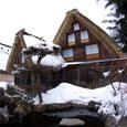 池と雪とデルタ