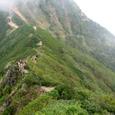 中岳ノコルへ