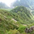 中岳の尾根から立場川本谷左俣
