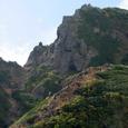 阿弥陀岳の登山道