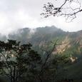 下山道からの横岳