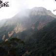 阿弥陀北稜中腹からの赤岳
