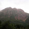 夕日に染まる赤岳