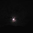 月夜の中岳