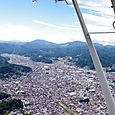 飛騨高山の市街地