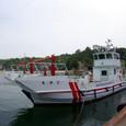 消防船で世界遺産を守れ