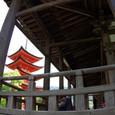 千畳閣と五重塔