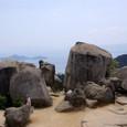 弥山展望台からの景色