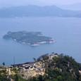 厳島海峡の大奈佐美島