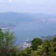 展望台からの宮島港