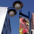 どぶ板通りの街灯