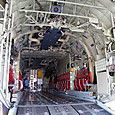 KC-130Jのカーゴルーム