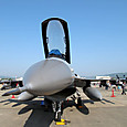 F-16のキャノピー