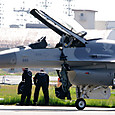 F-16のデモチームも準備だぜ!
