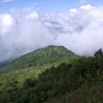 笹原から西登山道を見下ろす