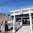 王滝頂上からの剣ヶ峰