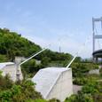 来島海峡大橋のケーブル