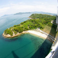 来島海峡の透明度
