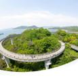 大島側のループ橋