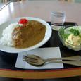 カツカレーで昼飯!!