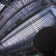 京都駅の天井