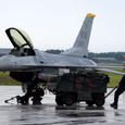 F-16のDEMOチームも準備