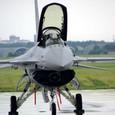 F-16CJ+の1ピースキャノピー
