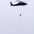UH-60Jの救難展示