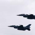 F-2による模擬対地攻撃の開始