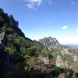 金洞山と白雲山