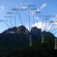 白雲山のレイアウト