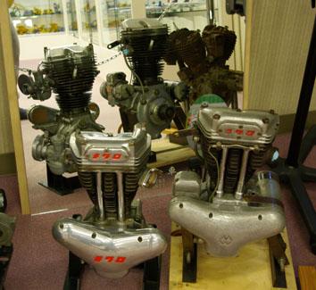 メグロのエンジン