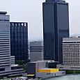 大阪ビジネスパークと大阪城ホール
