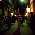 丑三つ時の禅寺