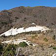 風化岩の白い砂漠